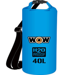 WOW Watersports H2O Proof Dry Bag - Blue 40 Liter [18-5100B]