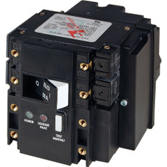 Blue Sea C-Series ELCI Main Circuit Breaker - Double Pole 120V AC 50A [3103]