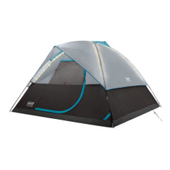 Coleman OneSource Rechargeable 4-Person Camping Dome Tent w\/Airflow System  LED Lighting [2000035457]
