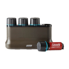 Coleman OneSource Rechargeable Lithium-Ion Battery 4-Pack  4-Port Quick Charging Station [2000035450]