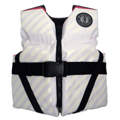 Mustang Lil' Legends 70 Youth Vest - 50-90lbs - Pink\/White [MV3270-254]