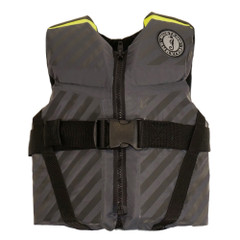 Mustang Lil' Legends 70 Youth Vest - 50-90lbs - Fluorescent Yellow-Green\/Gray [MV3270-256]
