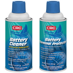 CRC Marine Battery Terminal Cleaner  Protector Bundle [1003890\/1003896]