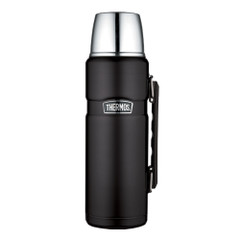 Thermos Stainless King Vacuum Insulated Beverage Bottle - 1.2L - Stainless Steel\/Matte Black [SK2010BKTRI4]