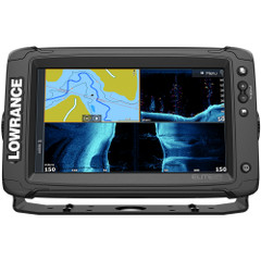 Lowrance Elite-9 Ti² Combo w\/Active Imaging 3-in-1 Transom Mount Transducer  US Inland Chart [000-14648-001]