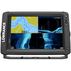 Lowrance Elite-12 Ti² Combo w\/Active Imaging 3-in-1 Transom Mount Transducer  US\/Canada Nav+ Chart [000-14659-001]