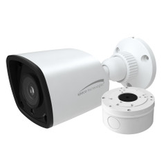 Speco 2MP HD-TVI Bullet Camera 2.8mm Lens - White Housing w\/Included Junction Box [VLBT5W]