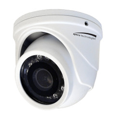 Speco 4MP HD-TVI Mini Turret Camera 2.9mm Lens - White Housing [HT471TW]