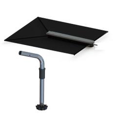 TACO ShadeFin w\/Black Fabric, Bag  Fixed Rod Holder Mount Kit [T10-3000-4]
