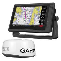 Garmin GPSMAP 942xs Touchscreen Chartplotter\/Sonar Combo w\/GMR 18 xHD Radar [010-01739-03\/18HXD]