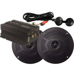 Milennia MA100PKG w\/Amp, Black Speakers & Mini Plug [MILMA100PKG]