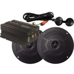 Milennia MA100PKG w\/Amp, Black Speakers & Mini Plug [MILMA100PKG]