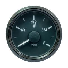 """VDO SingleViu 52mm (2-1\/16"""") DEF Level Gauge - E\/F Scale - 0-5V [A2C3916300030]"""
