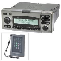Poly-Planar MRD87i IPX6 Marine Radio AM\/FM\/BT\/SiriusXM\/MNEA 2000 w\/FREE Wireless Remote [MRD871K2]
