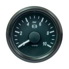 """VDO SingleViu 52mm (2-1\/16"""") Brake Pressure Gauge - 10 Bar - 0-5V [A2C1800340030]"""
