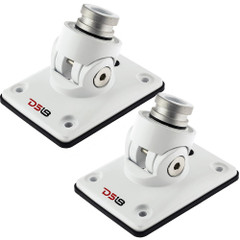 DS18 Hydro Universal Flat Mount V2 - White [FLMBX\/WH]
