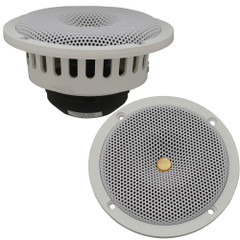 "DC GOLD AUDIO N5R 5.25"" Reference Series Speakers - 4 OHM - (Pair) White [N5R WHITE 4 OHM]"