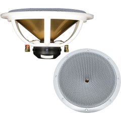 "DC GOLD AUDIO N9.5R 9.5"" Reference Series Speaker - 8 OHM - (Pair) White [N9.5R WHITE 8 OHM]"