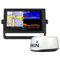 Garmin GPSMAP 942xs Plus Touchscreen GPS\/Fishfinder Combo w\/GMR 18HD+ Radar [010-02321-51]