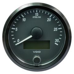 "VDO SingleViu 80mm (3-1\/8"") Tachometer - 3000 RPM [A2C3832980030]"