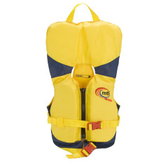 MTI Infant Life Jacket with Collar - Yellow\/Navy - 0-30lbs [MV201I-844]