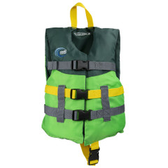 MTI Child Life Jacket - Bright Green\/Forest Green - 30-50lbs [MV230H-814]