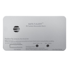 Safe-T-Alert SA-340 White RV Battery Powered CO2 Detector - Rectangle [SA-340-WT]