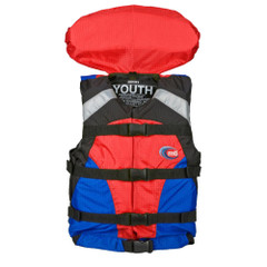 MTI Youth Canyon V Rafting Life Jacket - Blue\/Red [MV907Y-854]
