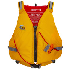 MTI Journey Life Jacket w\/Pocket - Mango\/Grey - Medium\/Large [MV711P-M\/L-206]