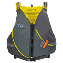 MTI Journey Life Jacket w\/Pocket - Charcoal\/Black - Medium\/Large [MV711P-M\/L-815]