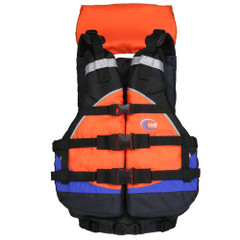MTI Explorer V Rafting Life Jacket - Blue\/Orange [MV908A-808]