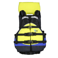 MTI Explorer V Rafting Life Jacket - Blue\/Yellow [MV908A-810]
