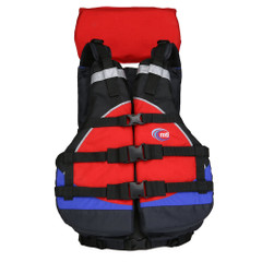 MTI Explorer V Rafting Life Jacket - Blue\/Red [MV908A-854]