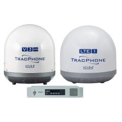 KVH TracPhone V3HTS  TracPhone LTE-1 Bundle [01-0418-11\/01-0419]