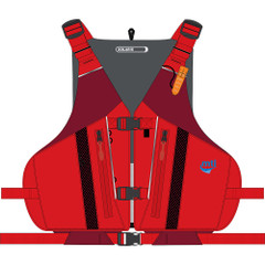 MTI Solaris Life Jacket - Red - X-Large\/XX-Large [MV807N-XL\/2XL-4]