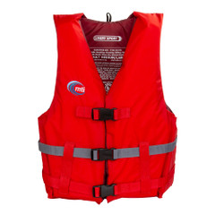 MTI Livery Sport Life Jacket - Red\/Dark Gray - X-Large\/XX-Large [MV701D-XL\/2XL-830]