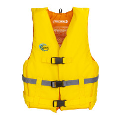 MTI Livery Sport Life Jacket - Yellow\/Gray - X-Large\/XX-Large [MV701D-XL\/2XL-222]