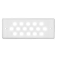 Macris Industries Ultra Thin Waterproof Area  Task Light - 8W - 1000 Lumens [IS15]