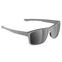 H2Optix Coronado Sunglasses Matt Grey, Grey Silver Flash Mirror Lens Cat. 3 - AR Coating [H2031]