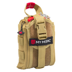 MyMedic Range Medic First Aid Kit - Advanced - Coyote [MM-KIT-S-RNGMED-CYO-ADV]