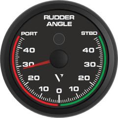 "Veratron Professional 85MM (3-3\/8"") Rudder Angle Indicator f\/NMEA 0183 [B00067401]"