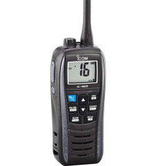 Icom M25 Floating Handheld VHF Marine Radio - Metallic Gray [M25 61]