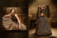 Black color Soft Net Fabric Lehenga Choli