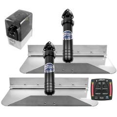 Bennett Marine 18x9 Hydraulic Trim Tab System w\/One Box Indication [189OBI]
