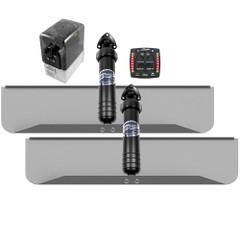 Bennett Marine 30x9 Hydraulic Trim Tab System w\/One Box Indication [309OBI]