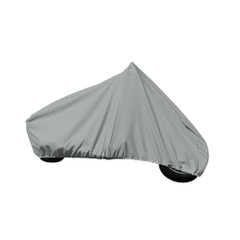 """Carver Performance Poly-Guard Motorcycle Cruiser w\/Up to 15"""" Windshield Cover - Grey [9001P-10]"""