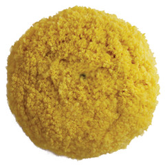 "Presta Yellow Yellow Blended Wool Medium Cutting Pad - 9"" Screw-On Pad [810074]"