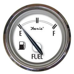 "Faria Newport SS 2"" Fuel Level Gauge - E-1\/2-F [25000]"