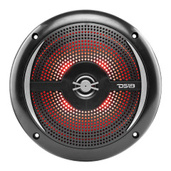 "DS18 HYDRO 6.5"" 2-Way Marine Slim Speakers w\/RGB LED Lighting 100W - Black [NXL-6SL\/BK]"