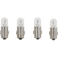 VDO Type A - White Metal Base Bulb - 24V - 4-Pack [600-807]